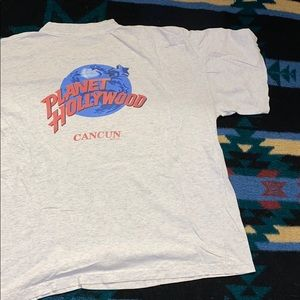 Vintage Planet Hollywood Cancun Tee 🌴🌎